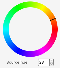 Hue Picker Preview
