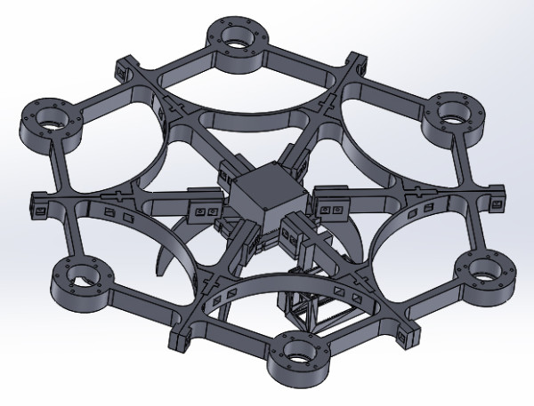 hackEns hexacopter Mark II